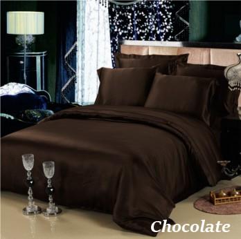 チョコレート 茶色の掛布団カバー