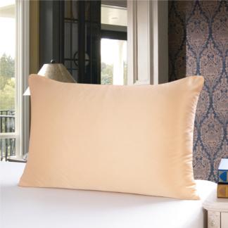 ゴールド 金色のシルク枕カバー ピローケース