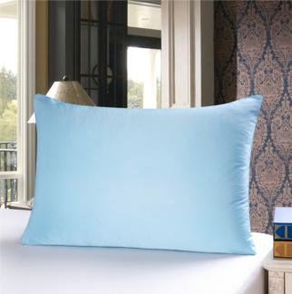 ライトブルー 水色のシルク枕カバー ピローケース
