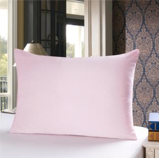 ピンク色のシルク枕カバー ピローケース