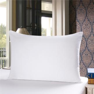 ホワイト 白色のシルク枕カバー ピローケース