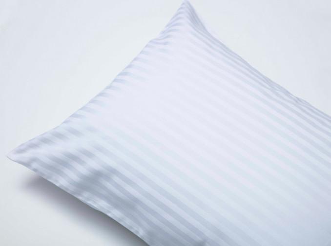 ストライプ シルク枕カバー